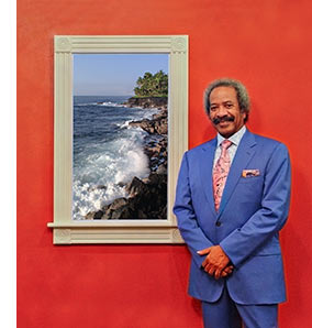 Allen Toussaint with eScape Digital Cinema display