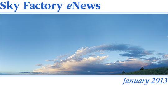 Sky Factory eNews - January 2013