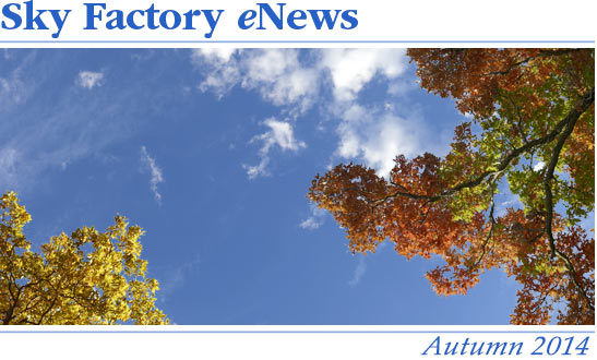 Sky Factory eNews - Summer 2014