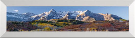 Panoramic Mountain Luminous Virtual Window