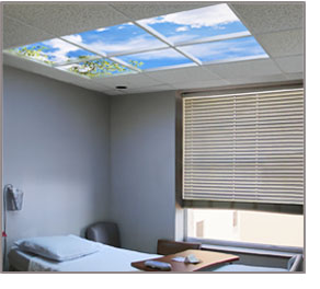 SkyCeiling at Covenant Health Hospital in Lubbock, TX