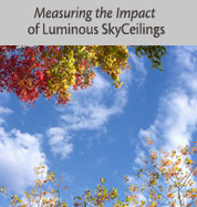 Measuring the Impact of Luminous SkyCeilings