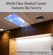 World-Class Medical Center Features Sky Factory