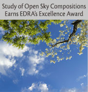 Study of Open Sky Compositions Earns EDRA's Excellence Award