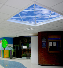 Alder Hey Children's Hospital features a playful Luminous SkyCeiling