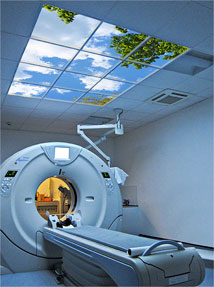 Climal Medical Imaging features a pair of attractive Luminous SkyCeilings