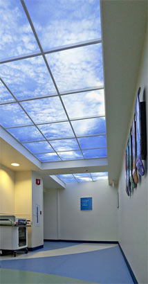 Healthcare Lighting at Children's Medical Center of Dayton