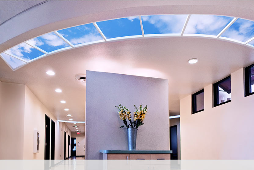 Custom Luminous SkyCeiling at After Hours Pediatrics in Albuquerque, NM