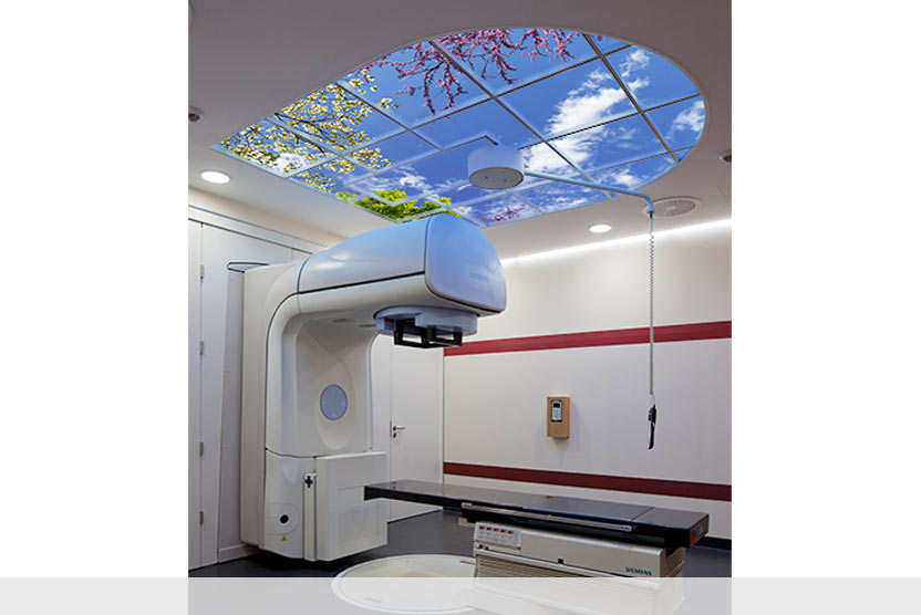 Custom Luminous SkyCeiling at The University of Leipzig Hospital