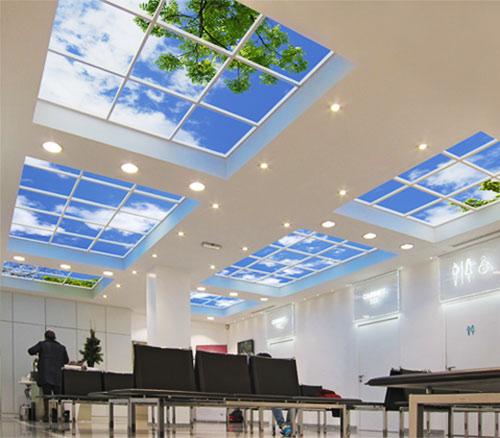 Sky Factory Lighting Options