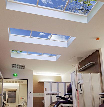 Virtual Skylights Healthcare Application