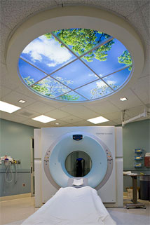 O'Connor Hospital features a Circular Luminous SkyCeiling