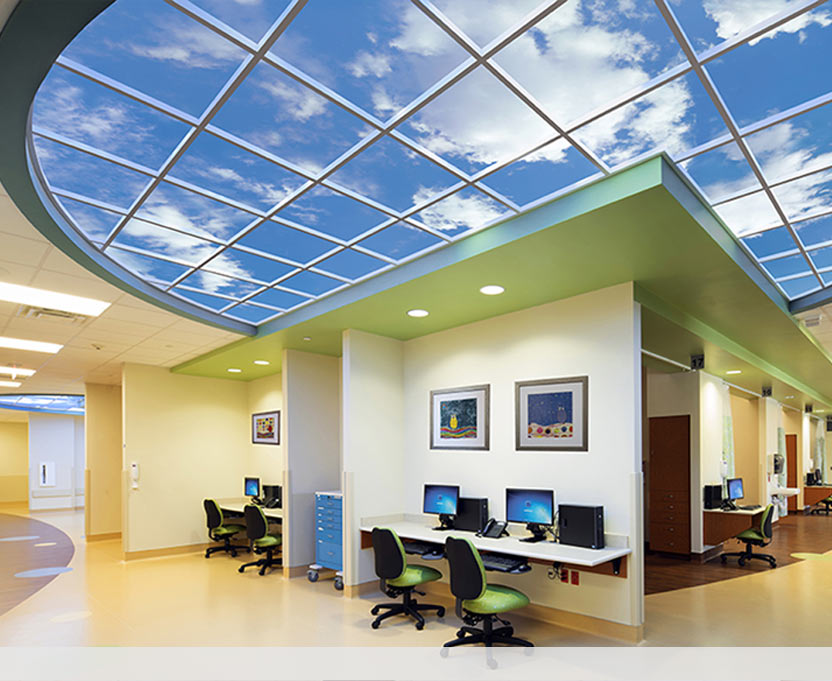 Luminous Skyceilings From The Sky Factory