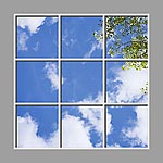 Ceiling Mural 6cd_6x6md02