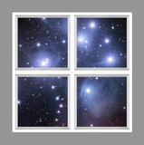 Star Ceiling se-rg015_6x6md_r33 by Robert Gendler