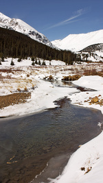 Winter, Platte River, Colorado